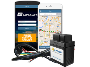 Linxup GPS Fleet Tracker, Wired device, & GPS System Tracking Device with Free Month of 3G GPS Service