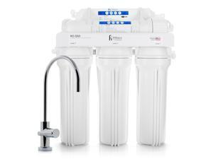 Premium Reverse Osmosis Drinking Water Filter System Ultra Safe 5 Stage 50 GPD & Lead Free Faucet - Built in USA