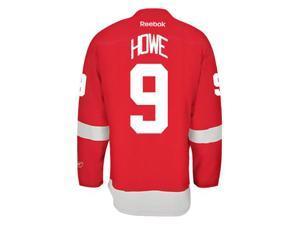 Gordie Howe Detroit Red Wings Reebok Premier Home Jersey NHL Replica