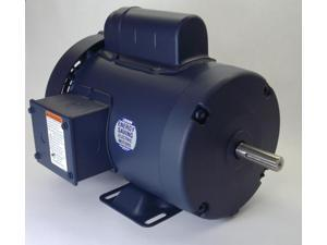 3/4 hp 1140 RPM 56H Frame TEFC 115/208-230 Volts Leeson Electric Motor # 110400