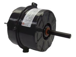 """5"""" Condenser Fan Motor 1/5 hp 1075 RPM, 208-230 Volts # 2246"""