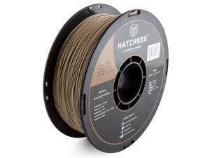 HATCHBOX 3D WOOD-1KG1.75 3D Printer Filament, Dimensional Accuracy +/- 0.05 mm, 1 kg Spool, 1.75 mm, Wood