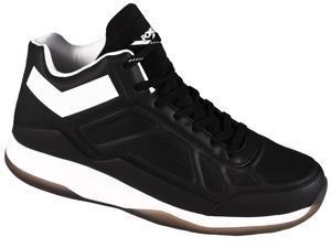 Men's PONY SP-60 Core Ultra-Lite Mid-Top Sneaker Blk/Wht 8