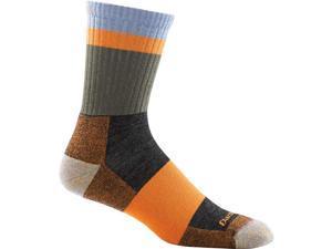 Men's Heady Stripe Micro Crew Light Cushion Socks