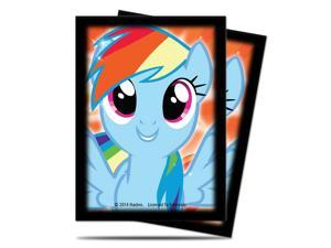 Ultra-Pro My Little Pony Card Sleeves - Rainbow Dash, Version 2 (65 Count, Standard)
