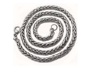 "Men's 20"" Stainless Steel Chunky Chain"