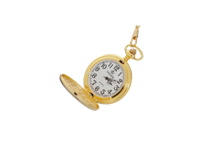 Gold Plated Polished Pocket Watch