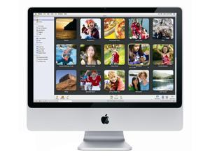 Apple A Grade Desktop Computer iMac 20-inch (Aluminum) 2.66GHZ Core 2 Duo (Early 2008) MB324LL/A 2 GB DDR3 320 GB HDD 1680 x 1050 Display Sierra 10.12 Includes Keyboard and Mouse