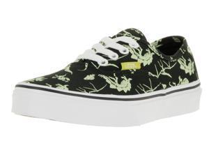 Vans Kids Authentic (Glow In The Dark) Skate Shoe