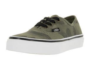 Vans Kids Authentic (Camo Jacquard) Skate Shoe