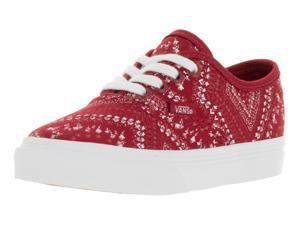 Vans Toddlers Authentic (Ditsy Bandana) Skate Shoe