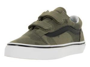 Vans Kids Old Skool V (Camo Jacquard) Skate Shoe