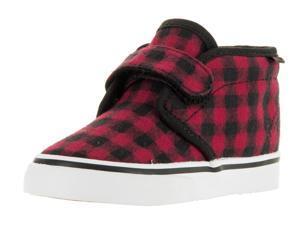 Vans Toddlers Chukka V (Twill & Gungham) Skate Shoe