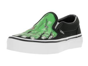 Vans Kids Classic Slip-On (Glow In The Dark) Skate Shoe