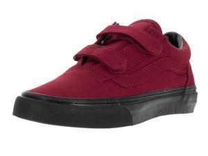 Vans Kids Old Skool V (Black Sole) Skate Shoe