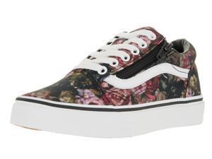 Vans Kids Old Skool Zip (Moody Floral) Skate Shoe