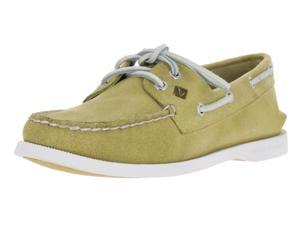 Sperry Top-Sider Women's Authentic Original 2-Eye White Cap Boat Shoe