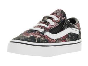 Vans Toddlers Old Skool Zip (Moody Floral) Skate Shoe