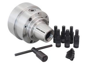 "Accusize - 5C, 5"" Collet Chuck with Integral D1-5 Camlock Mounting, #0269-0015"