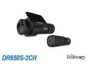 BlackVue DR650S-2CH 1080p Dual-Lens WiFi GPS Dashcam for Front and Rear (Includes Power Magic Pro)