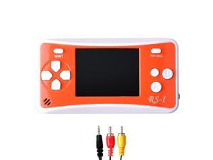 "152 in 1 2.5"" LCD Handheld Game Console Orange/White"