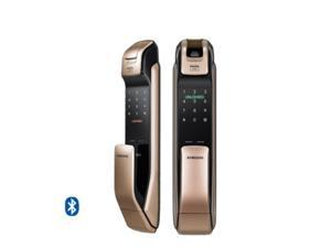2016 SAMSUNG SHP-DP920 Keyless Bluetooth Fingerprint PUSH PULL Smart Digital Door Lock