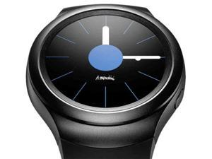 Samsung Galaxy Gear S2 Sports SM-R720 Smart Watch Bluetooth Wi-Fi SM R720 Dark Gray