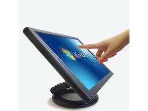 "New EUNJIN ED170 Touch monitor 17"" POS LCD Dual Hinge 5 Wire screen Kiosk"