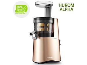 Genuine New Hurom Alpha H AA Series ALPHA H AA LBF17 Cold Press Juicer Machine Healthy Diet Rose Gold