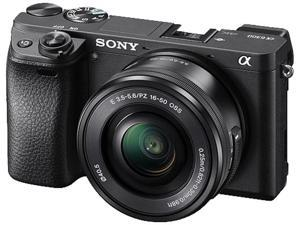 Sony Alpha A6300 ILCE-6300 4K Mirrorless Digital Camera with 16-50mm Lens 24.2MP Black