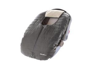 Eddie Bauer Warm  Cozy Weather Resistant Reversible Carrier Car Seat Cover Gray 071534542632