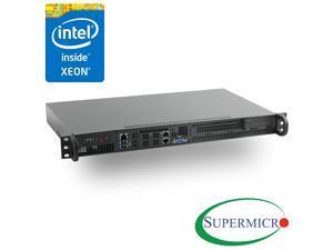 Supermicro Xeon D-1521 Mini 1U Rackmount, Front I/O,10GbE, IPMI,RS-SMX104C2N-FIO