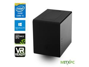 VR Ready Mini Gaming PC w/Intel i5-6600, 8GB,256GB SSD, 1TB HDD, NVIDIA GTX 1060, Win 10 Home