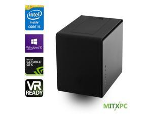 VR Ready Mini Gaming PC w/Intel i5-6600, 8GB,256GB SSD, 1TB HDD, NVIDIA GTX 1060, Win 10 Pro