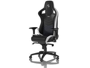 noblechairs - Epic Series Gaming Chair – SK Gaming Edition – Black w/White & Blue