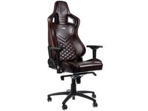 noblechairs - Epic Series Real Leather Gaming Chair – Brown w/Black