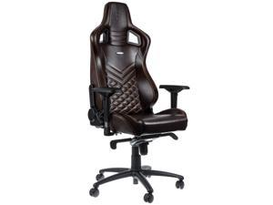 noblechairs - Epic Series Real Leather Gaming Chair – Brown w/Beige