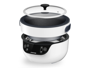 Tatung Fusion Cooker - Simple, Healthy and Nature -  Variety of Cooking Methods, Cook, Grill, Soup, Bake and Waterless Cook