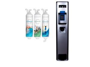 Drinkpod USA 503 Series Bottleless Water Cooler with Sediment, Pre-Carbon and Post Carbon Filters. Installation kit Included.