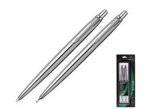 Parker Jotter Pen & 0.5 mm Pencil Set, Stainless Steel