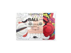 Pepin Postcard Coloring Book, Bali
