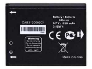 Replacement Battery for Alcatel OT-880a aVengeance (CAB3120000C1)