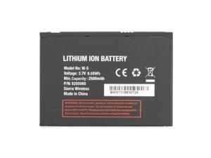 High Performance Replacement Battery W-5 W5 5200060 For Sierra Wireless Netgear Unite 770s Air Card Hot Spot 2500mAh