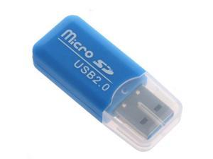 High Speed USB 2.0 Memory Reader Adapter Micro SD TF Reader