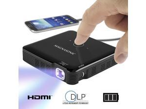 Magnasonic Mini Portable Pico Video Projector, HDMI, Battery, Speakers, 100 Lumens, Movies, Presentations, Smartphones