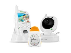 Levana Jena Digital Baby Video Monitor with LEVANA Powered by Snuza Oma Portable Baby Movement Monitor System (32123)