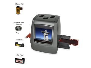 "Magnasonic All-In-One High Resolution 22MP Film Scanner, Converts Film, Slides and Negatives, Vibrant 2.4"" LCD Screen"