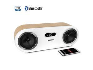 Fluance Fi50W Two-Way High Performance Wireless Bluetooth Premium Wood Speaker System with aptX Enhanced Audio