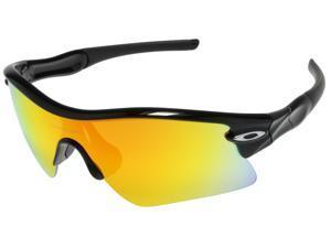 Oakley MPH Radar Range Sunglasses OO9056-0635   Polished Black   Fire Iridium Lens  