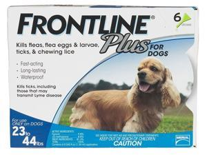 Frontline Plus for Medium Dogs 23-44 lbs - 6 Month Supply